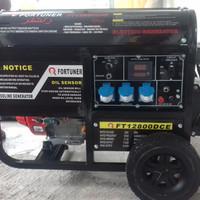 genset bensin fortuner 12800open 8000 watt 1phase 220 volt garansi