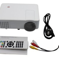Mini LED Projector 805 HD Built in TV Tunner