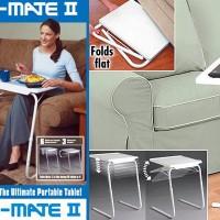Table Mate II Meja Lipat Portable Serba Guna Laptop Makan Belajar Gamb