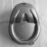EVA Frog PU Carrying Case for Headphones - Black