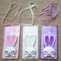 harga Xiaomi Mi 4s Standing Diamond Bunny Transparan silicon case +strap Tokopedia.com