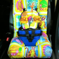 Jual Baby Car Seat Full Cushion Motif Pooh&Friends Murah