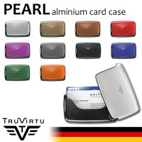 DOMPET Kartu ALUMINIUM TRU VIRTU PEARL ANTI RFID WALLET CARD CASE