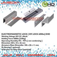 EHD ELECTROMAGNETIC LOCK [ EM LOCK ] 600lbs