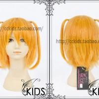 Wig OreShura - Harusaki Chiwa Oranye Orange Oren pendek