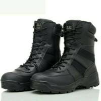 harga SEPATU 5.11 PDL TACTICAL BOOTS BLACK /ARMY BOOTS Tokopedia.com