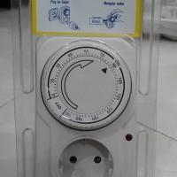 Stop Kontak Timer Analog 3 Jam Kaiser / Untuk Charger Handphone