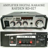 Power Amplifier Mobil / Karaoke RAYDEN RD-027 AC/DC12V Digital Player