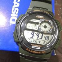 Jam Tangan Cowok / Pria / Casio / Casio Digital AE-1000W-1A