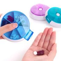 KP002 Kotak Obat 7 Grid / Medicine Box / Tempat Penyimpanan First Aid