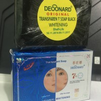Soap Deoonard 7days Whitening (Black Soap) / Sabun Deoonard Hitam