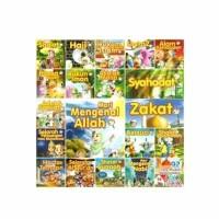 VCD Anak Islami Original Paket Ensiklopedi Anak Muslim 21 Judul. Murah