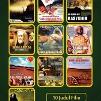 VCD Anak Islami Original Paket Film Sejarah Islam. Harga Murah