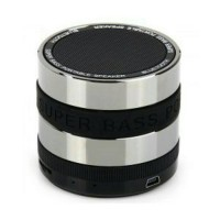 Bluetooth Speaker Mini Metal Super Bass Portable