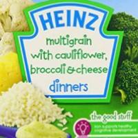 Heinz Dinner 4M + Multigrain With Cauliflower, Broccoli & Cheese