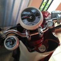 harga PREMIUM QUARTZ Jam Analog Suhu Udara MOTOR SEPEDA dll Tokopedia.com