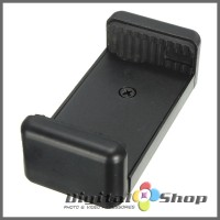 Jual Universal Mobile Phone Bracket Clip Holder For Tripod, Monopod - Black Murah