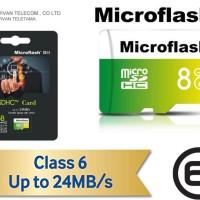 Microflash Micro SDHC 8Gb Class 6 (24) by Vivan