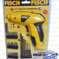 Bor Fisch / CORDLESS SCREWDRIVER / Bor Portable / MESIN BOR PORTABLE FISCH