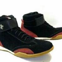 harga Sepatu Casual Black Master New Ferari Tokopedia.com
