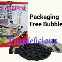 Cetakan Loyang Takoyaki/ Kue Cubit/ Kue Telur/ Poffertjes Maker