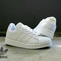harga Sepatu adidas superstar putih strip putih Tokopedia.com
