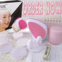 Jual Pink Skinner Korea set / Pink Skinner beauty Set Murah
