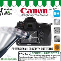 Screen Guard Protector Tempered Glass LCD Canon for EOS M3/M10