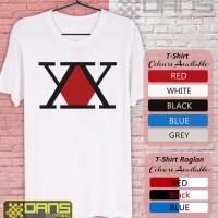 Kaos Cowok / Cewek - T shirt - Kaos ANime Hunter x Hunter Symbol Logo