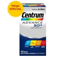 Centrum Advance 50+ for adults 100 tablets - multivitamin