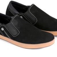 harga Sepatu casual formal pria sintetis Garsel E 084 hitam Tokopedia.com