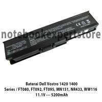 Baterai Dell Vostro 1420 1400 / FT080, FT092, FT095 MN151 NR433 WW116