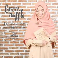 Berry Ruffle Ukuran L - Hijab Alila