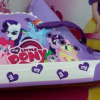 Sepatu Kets Little Ponny / Sepatu Anak Little Pony Import Purple
