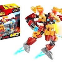 MAINAN ANAK BLOCK LEGO - BLOCK SUPER HEROES IRONMAN - 90007A - ZIMO