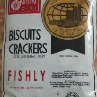 Nissin Biscuit Crackers Fishly 300g