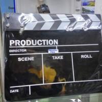 harga clapper papan film,director Board/aksesoris foto Tokopedia.com