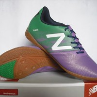 sepatu futsal new balance ungu / merah grade ori import