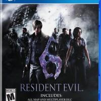 KASET PS4 - RESIDENT EVIL 6