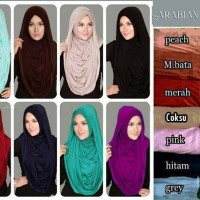 Hijab, Hijab style, Jilbab Murah, Hijab Instant Arabian Hoodie Premium