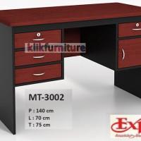 harga MT 3002 EXPO Meja Tulis Kantor 1 Biro Tokopedia.com