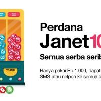 Perdana 3 / Tri / Three JAgoan interNET - JANET