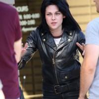 Jaket Semi Kulit Kristen Stewart Film Runaways