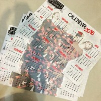 Calender Kalender Poster 5sos 5 second of summer