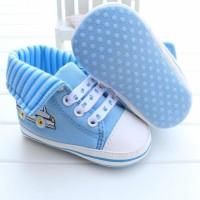 harga Sepatu Anak : Prewalker PW 20 Light Blue Car Tokopedia.com