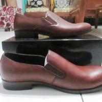 Sepatu Formal Kulit Pantofel Big Size Jumbo 45 atau 11 Merk Zalora