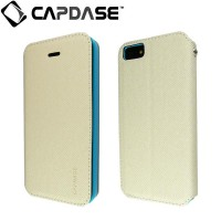 SALE!!! CAPDASE Folder Case Sider Baco iPhone 5/5S Original - White