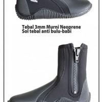 harga Alat Selam Sepatu Karet Merk American Scuba Untuk Dipantai, Karang Tokopedia.com