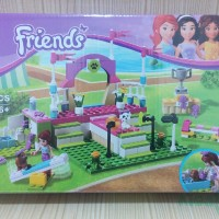 lego friends bela heartlake dog show (10159)