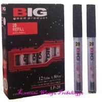 Refill Isi Pensil Mekanik 2,0mm Merk Big Isi 12 Tubex8pcs